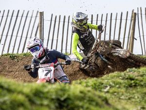 Picture By Peter Frankland. 07-03-20 Motocross at Pleinmont track.. (27392637)