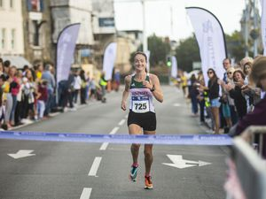 Picture by Sophie Rabey.  06-09-20.  Butterfield Guernsey Half Marathon.  The event is usually held on Father's Day, but was postponed because of the Covid-19 pandemic..This year marks its 20th anniversary.. (29344137)