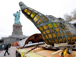 Statue of Liberty's original torch moved to museum site