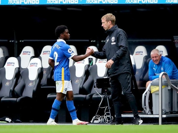 Graham Potter hails 'refreshing' Tariq Lamptey after Brighton's win at Newcastle
