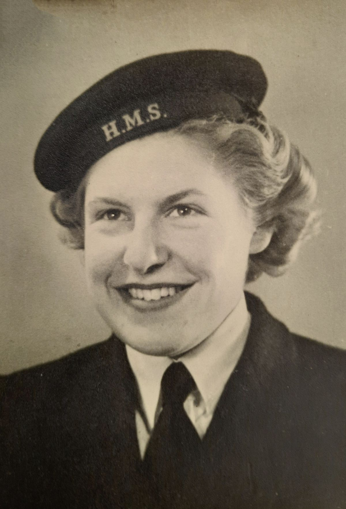 Following her father into the services was Marj Dodsworth's choice rather than war work such as munitions manufacture.