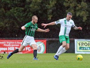 Burgess Hill Town and Guernsey FC have to wait for their reverse fixture following travel delays last weekend. (Picture by ESA Photos, 27413932)