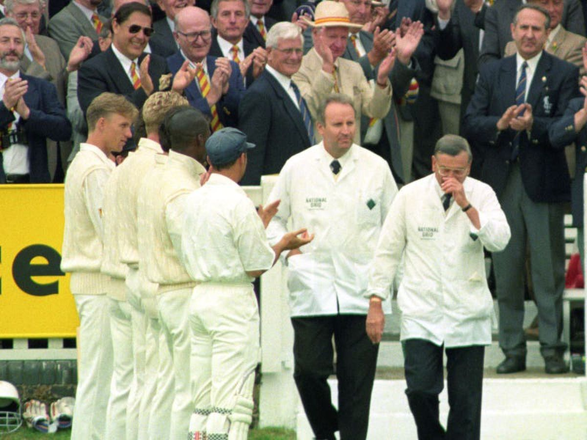 On This Day in 1996: Dickie Bird announces retirement from umpiring