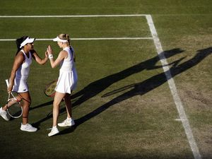 'We're here to win it' says Watson after women's doubles progress