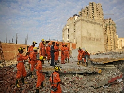Six bodies found after two multi-storey buildings collapse