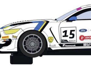 Picture supplied. 09-01-20 Seb Priaulx has had one of his cars, a Ford Mustang, made into a scalextric car. (26851835)