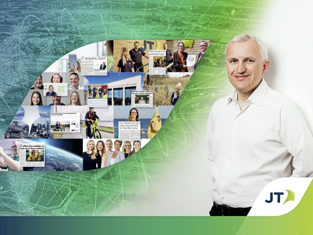 Graeme Millar, chief executive office of JT Group, which has launched a sustainability strategy.