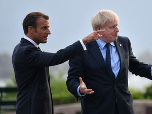 Johnson speaks to Macron after tensions flare over military pact with Australia