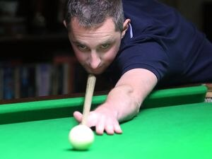 Picture By Steve Sarre 17-09-18 .North Legion .Snooker Teams start of the season.Miles Plumley (28915541)