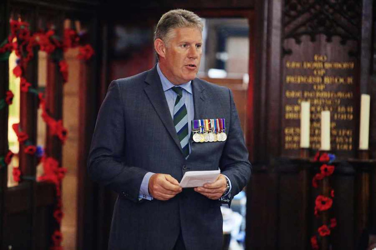 RGLI remembrance service in pictures