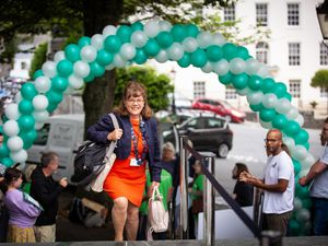 One of the proudest moments of Michelle Le Clerc's eight as the Guernsey Disability Alliance celebrates the passing of disability legislation. (Picture by Peter Frankland, 29324994)
