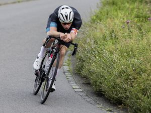 Putting the power on: Sam Culverwell now heads to Belgium in a bid to gain experience and add to his impressive career 'palmares'. (Picture by Andy Weatherburn, www.andyweatherburn.com, 25662136)