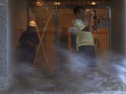 Powerful typhoon kills at least three in Macau