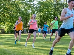 Middle and long distance runners get 'green feet'
