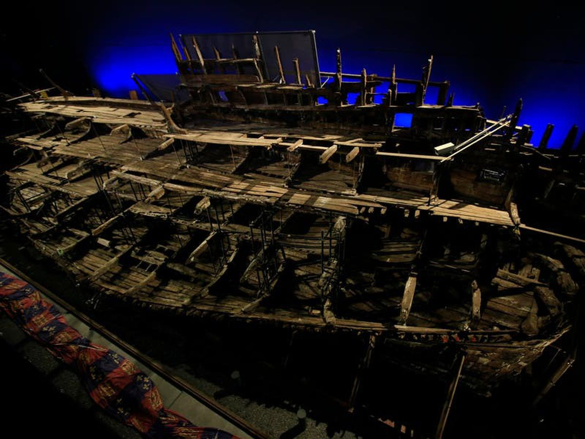 Crew of the Mary Rose were not all British, says study
