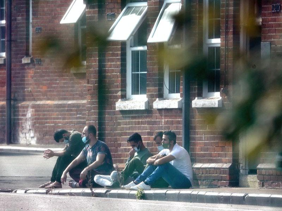 Home Office accused of 'gagging' volunteers at migrant camp