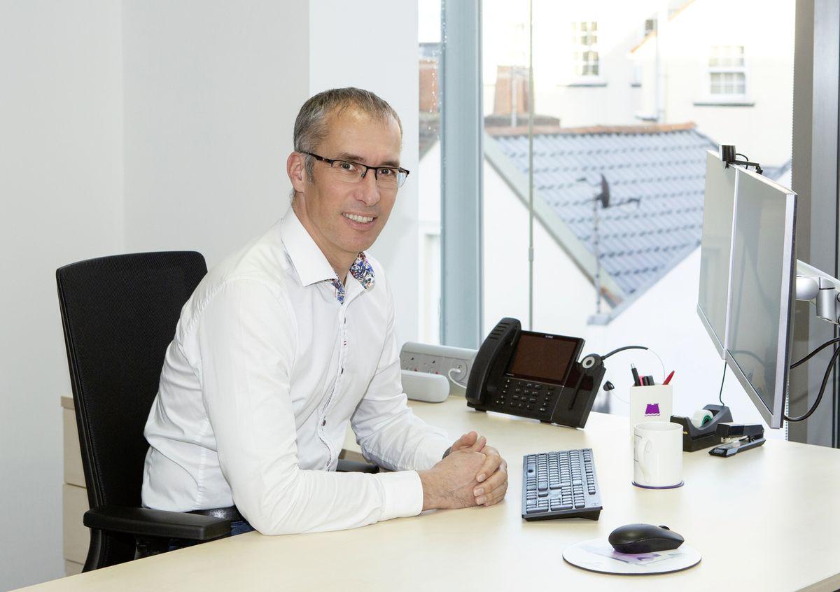 Jim Coupe, managing director, Skipton International.. (29381386)