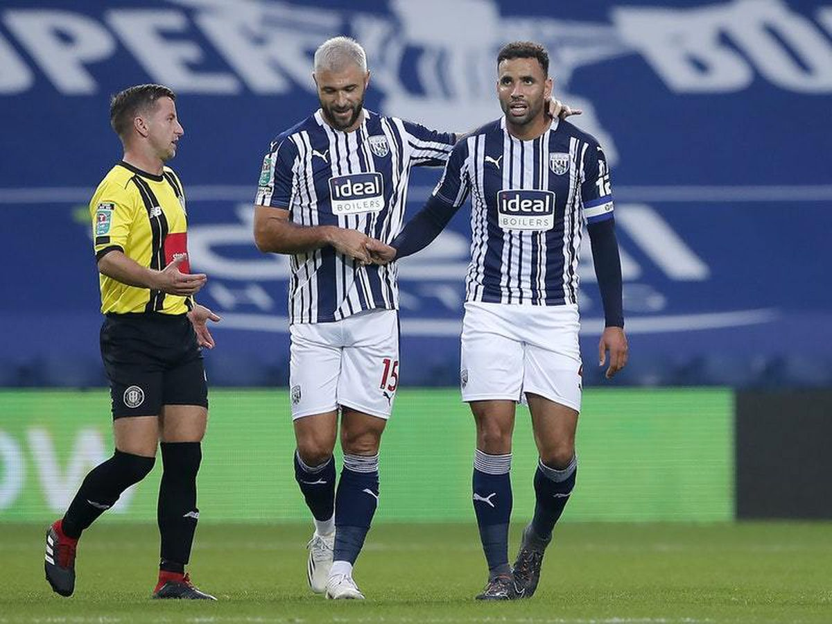 West Brom ease past Harrogate to progress into third round of Carabao Cup