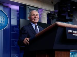 Dr Anthony Fauci describes 'liberating feeling' working in Biden administration
