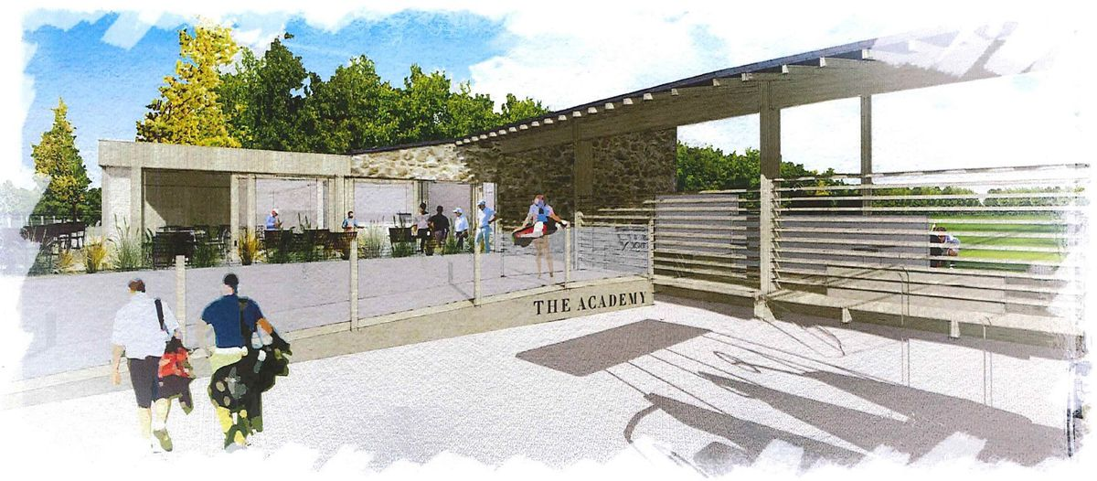 An artist's impression of the planned PGA Academy at La Grande Mare. (29265894)