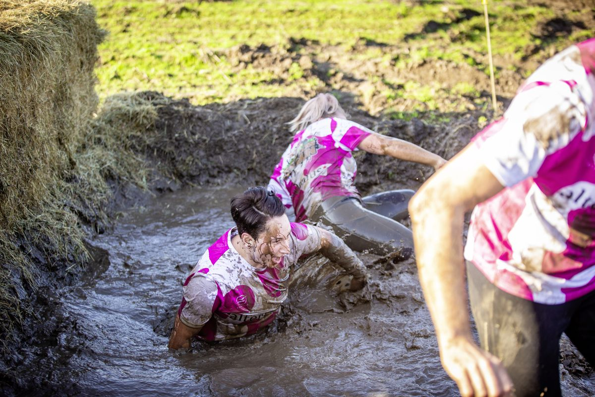 Picture by Sophie Rabey.  29-11-20. Muddy Cow Fun Run Vazon/Grande Mare. (28963014)