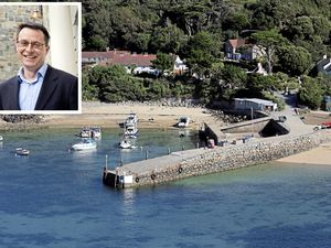 Jonathan Watson, who has worked in Herm for 15 years, is leaving the island.(Composite picture by Peter Frankland)