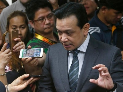 Philippine president's fiercest critic arrested after court order