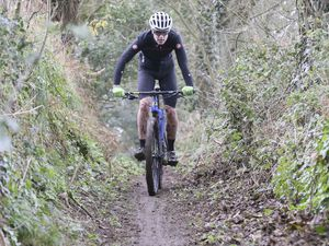 Pic by Adrian Miller 17-11-19.Underground Hospital area St Andrew's.Mountain biking. (26382392)