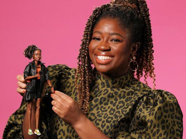 DJ Clara Amfo made into Barbie for International Women's Day