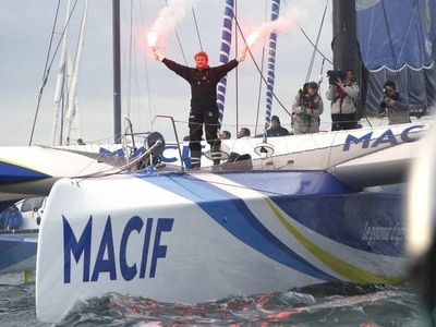 French sailor Francois Gabart sets new solo round-the-world record