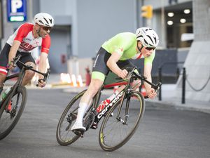 Sam Culverwell pictured competing at this summer's Island Games in Gibraltar. (Picture by Peter Frankland, 25763179)
