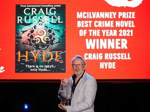 Craig Russell wins top crime fiction prize for novel Hyde