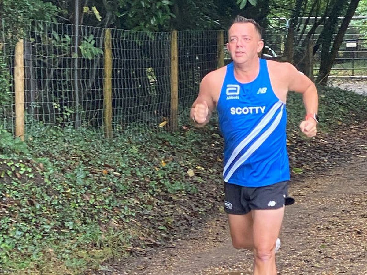 Ex-Navy man to run marathon for Diabetes UK after 'devastating' diagnosis