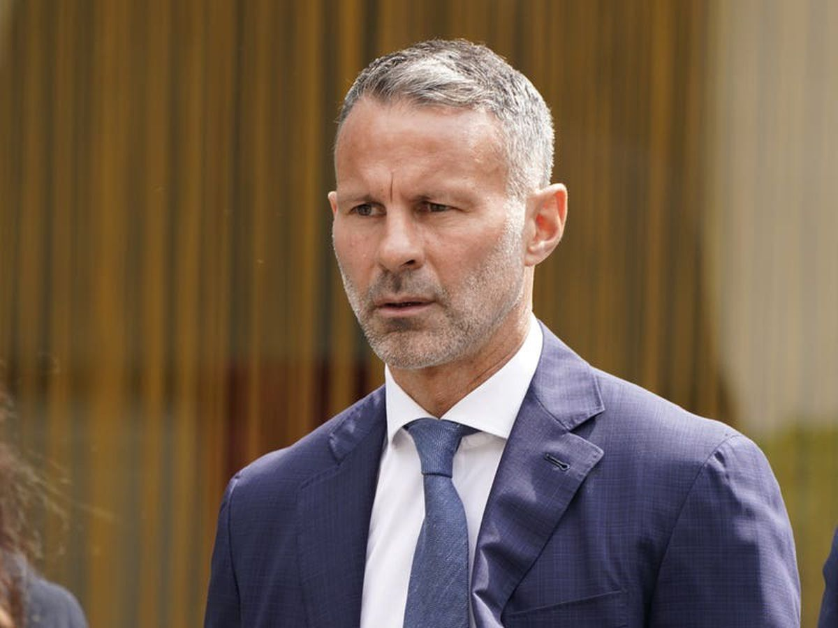 Giggs 'kicked ex in back and threw her naked out of hotel room', court told