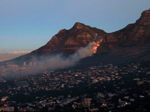 Fire on Cape Town's Table Mountain under control