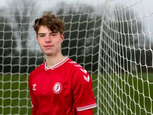 Guernsey footballer Alex Scott has been named in the England under-18 squad. Picture by JMPUK. (29352394)