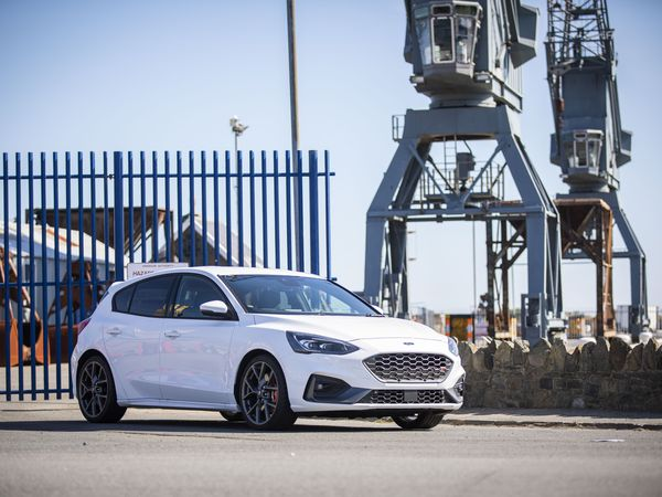 Picture by Sophie Rabey.  30-08-19.  Ford Focus ST from TrustFord.  DRIVE. (25712333)