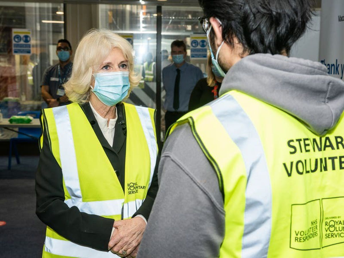 Camilla thanks vaccine rollout volunteers