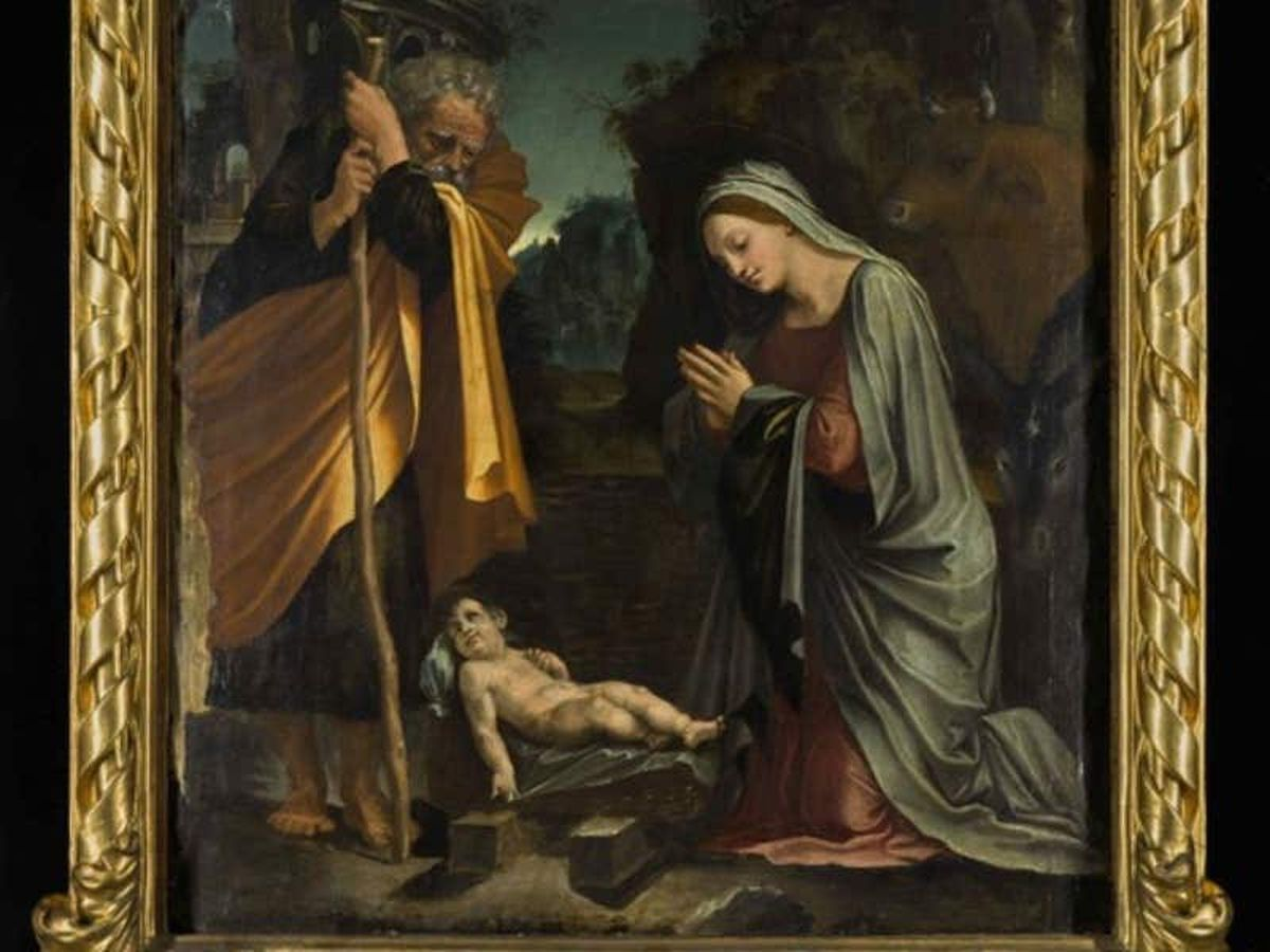 Export bar placed on nativity painting valued at £460,000