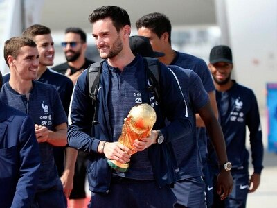 French World Cup winners receive rapturous welcome home
