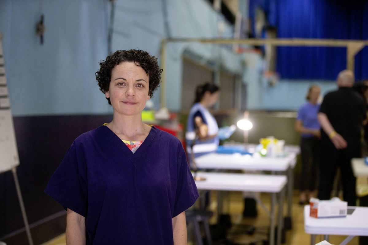 Clinical lead at the Community Vaccination Centre Jo Rocha. (Picture by Cassidy Jones, 29660413)