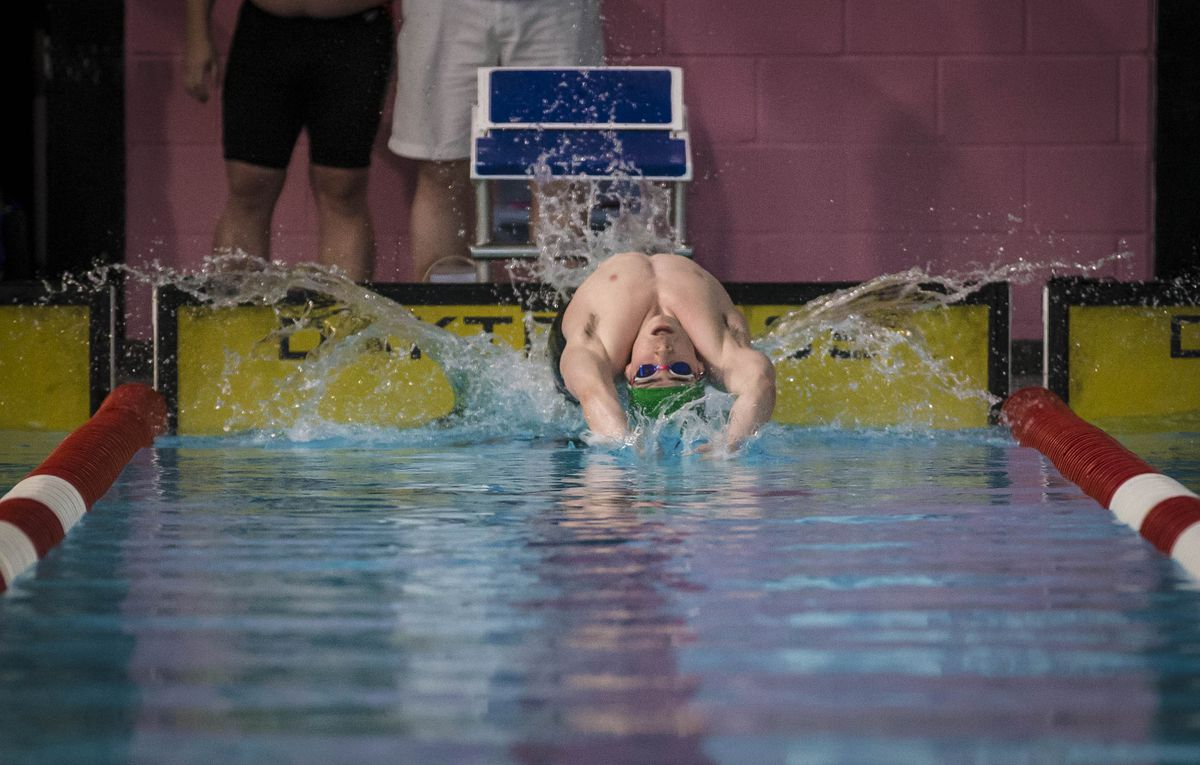 Charlie-Joe Hallett will be one of the island's top swimmers in action this weekend. (Picture by Peter Frankland, 28950842)