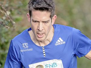 Pic supplied by Andrew Le Poidevin: 14-12-2019...Cross Country Island Championships at Les Norgiots. The seniors race was won by Lee Merrien.. (28165043)