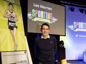 Pic by Adrian Miller 07-01-21 Beau Sejour theatre - Sporting Achievement Awards 2020 Lee Merrien has been entered into the Sporting Heroes hall of fame (29090637)