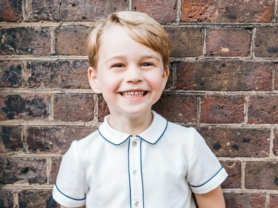 Official picture released to mark Prince George's fifth birthday