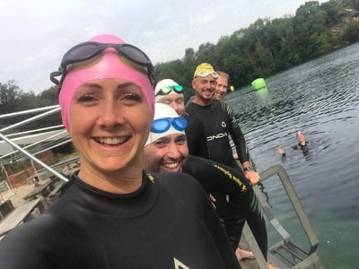 Girl with leukaemia inspires team to tackle Serpentine for charity swim