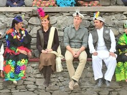 William and Kate enjoy colourful welcome in Pakistan mountain settlement