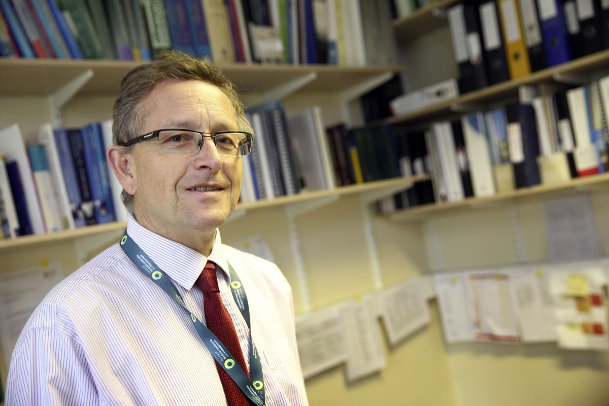 Dr Stephen Bridgman was the Bailiwick's medical officer of health from 2008 until his retirement in 2017. (29777431)
