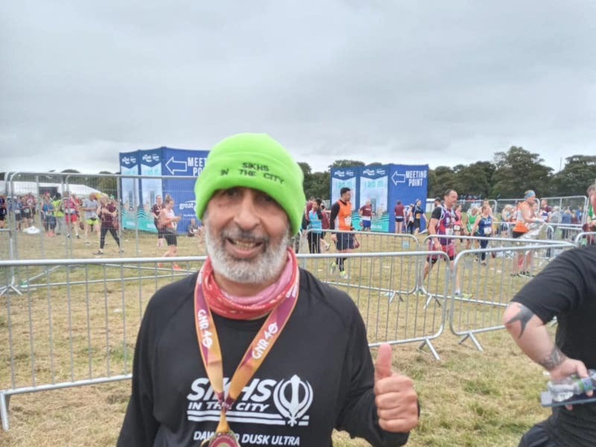 Grandfather prepares for 37th consecutive London Marathon after Covid-19 battle
