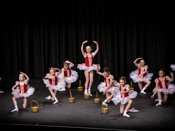 Classical groups, under-9 for Mary Balfour Trophy: Avril Earl Dance and Theatre Arts Centre perform 'Into The Woods'. (29128445)